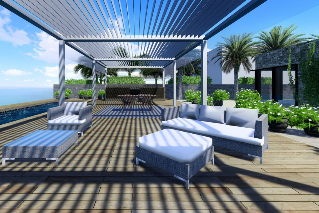 outdoor concepts marbella en pool house marbella. Black Bedroom Furniture Sets. Home Design Ideas