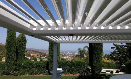 Fascinating Garden with Bioclimatic Pergola in Sierra Blanca Marbella