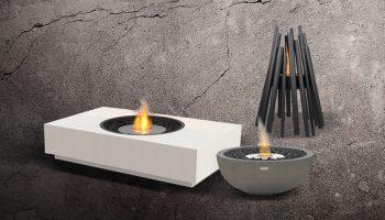 Bioethanol Fire Outdoor Heater