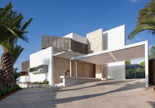 Minimalist Contemporary Carport Marbella