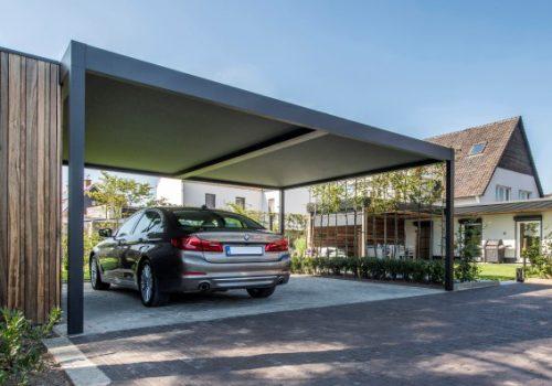 Modern Minimalist Carport Marbella