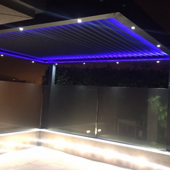 Instalación de pérgola Biossun en Oviedo