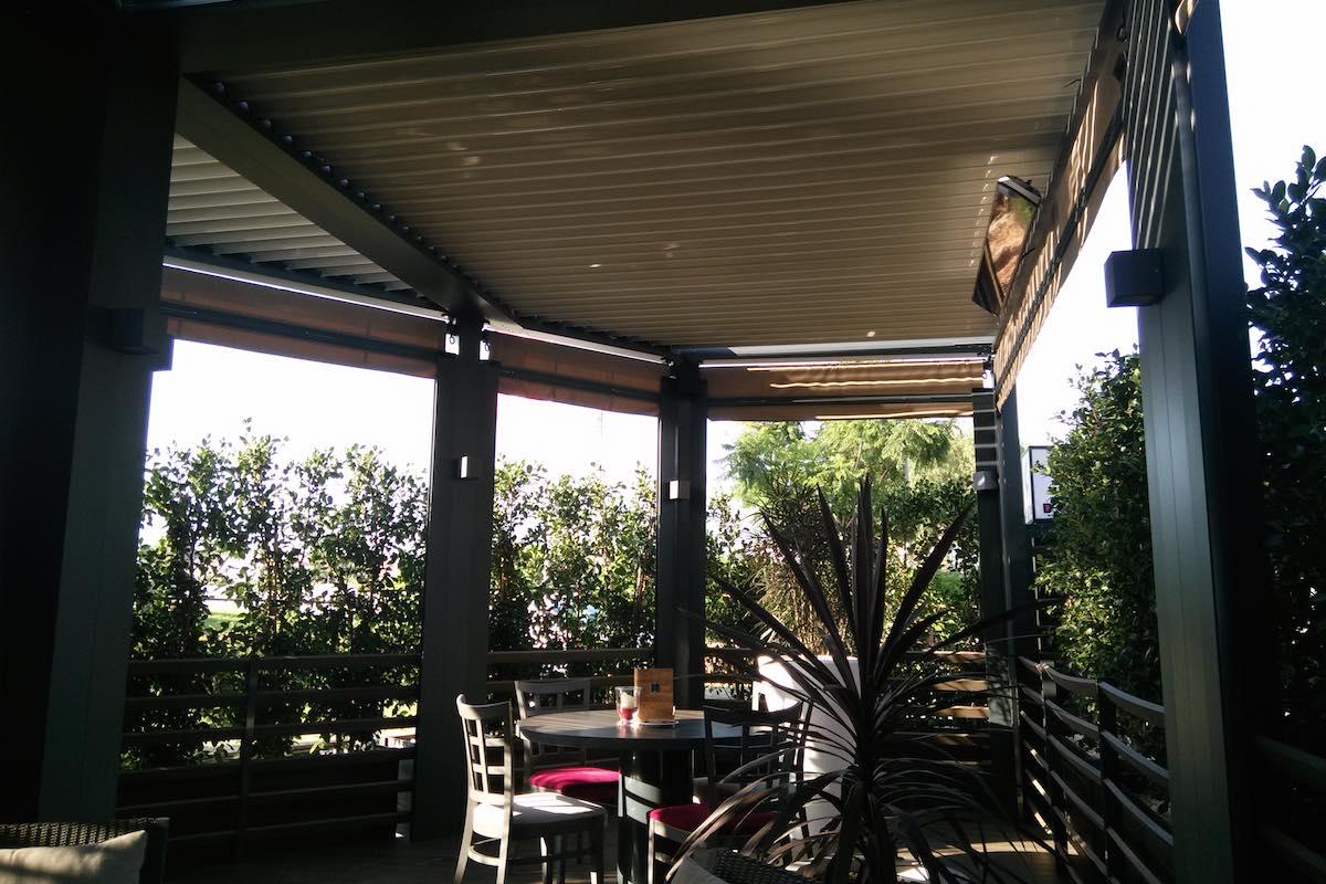 Outdoor Concepts instaló Biossun en la terraza de D-wine