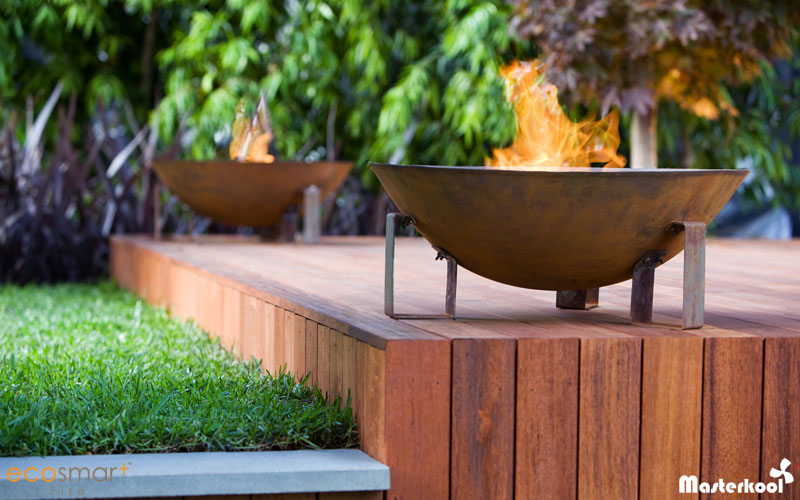 Ecosmart Outdoor fireplace model dish