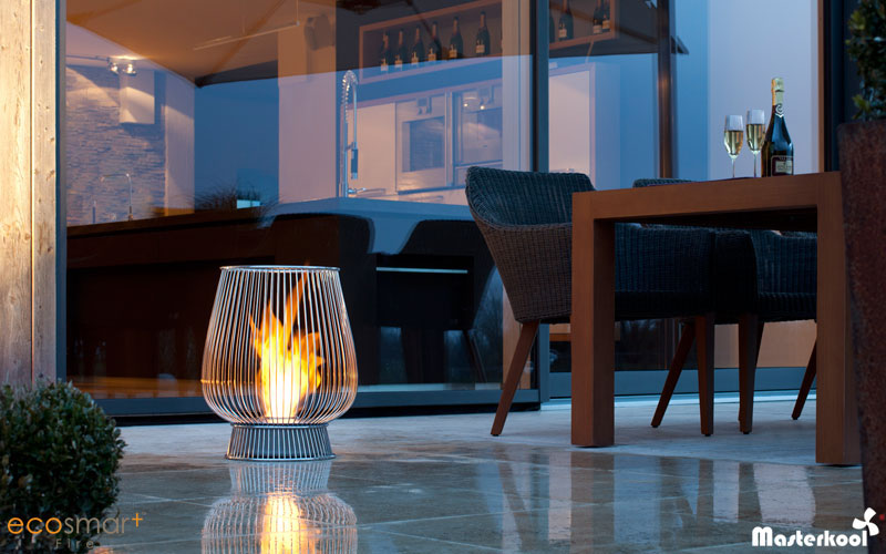 EcoSmart outdoor fireplace portable