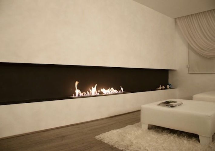 EcoSmart Fire double burner
