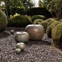 Esculturas de bronce para exterior Bull Stein