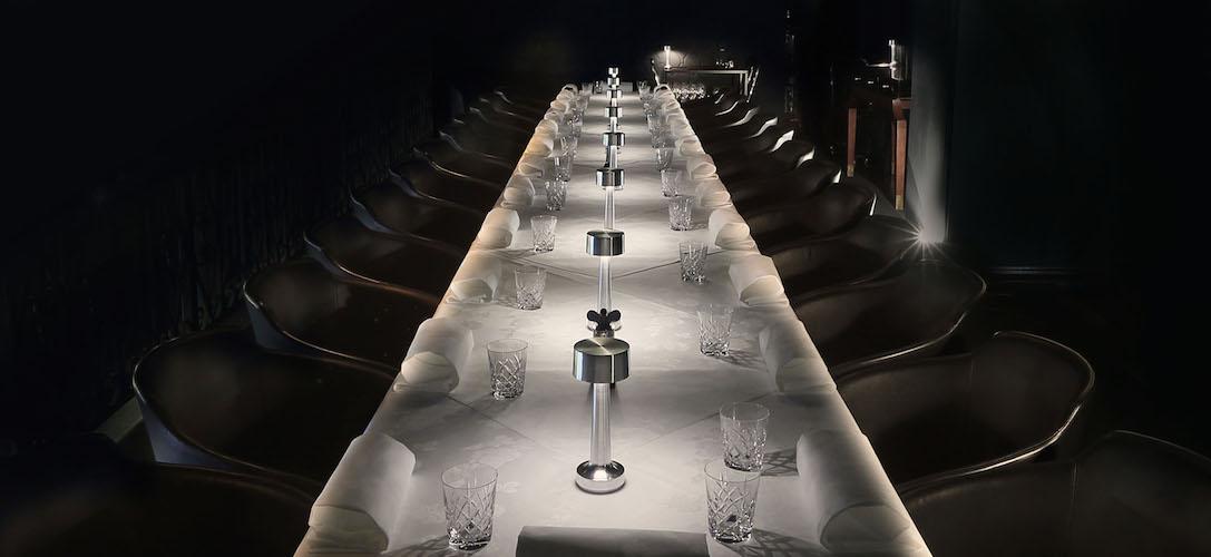 Lámparas inalámbricas para iluminación de mesas