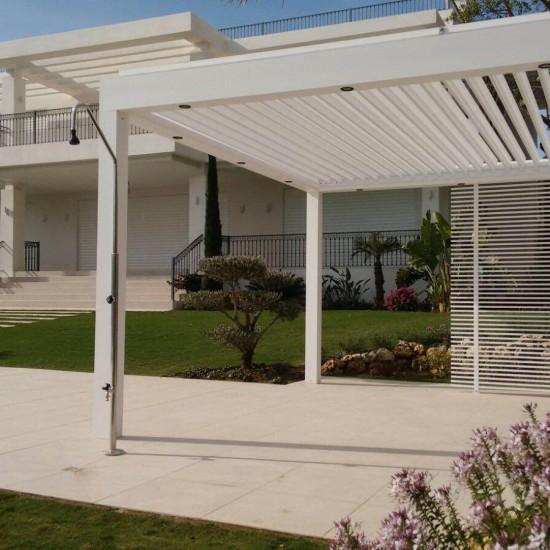 Pérgola Biossun en una villa de Marbella