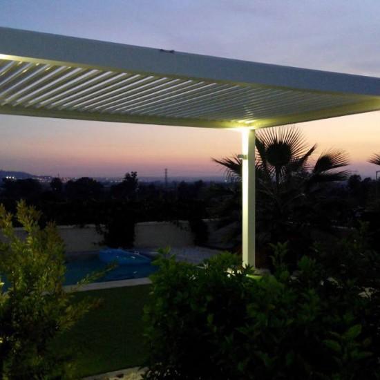 Instalación de pérgola bioclimática Biossun en Alicante