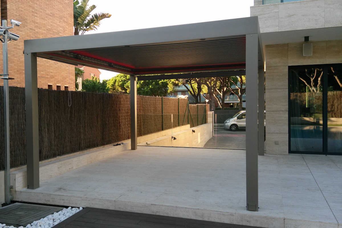 Proyecto de pérgola Biossun por Outdoor Concepts
